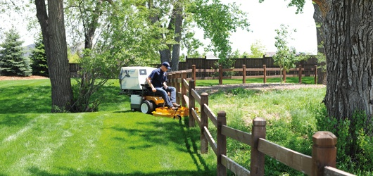 Walker Zero-Turn-Mäher